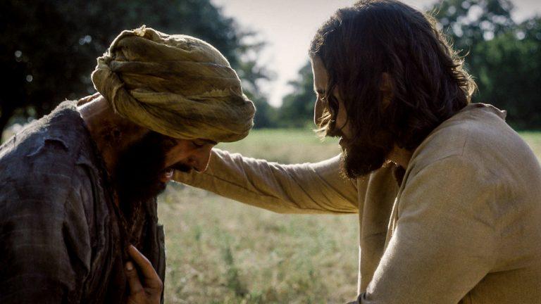 The Chosen press photos (press.thechosen.tv), The Chosen - Jesus touches the leper, CC BY-SA 4.0